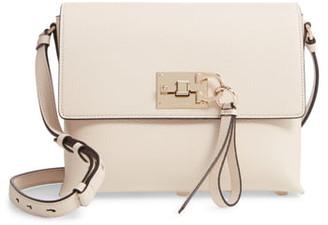 Salvatore Ferragamo Small The Studio Leather Crossbody Bag