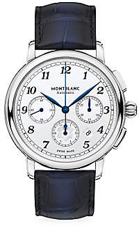 Montblanc Men's Star Legacy Stainless Steel & Alligator Strap Automatic Chronograph Watch