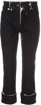 Prada Stretch Cotton Denim Trousers