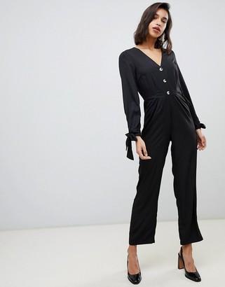 Vero Moda 3/4 tie sleeve jumpsuit