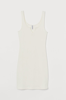 H&M Ribbed jersey dress