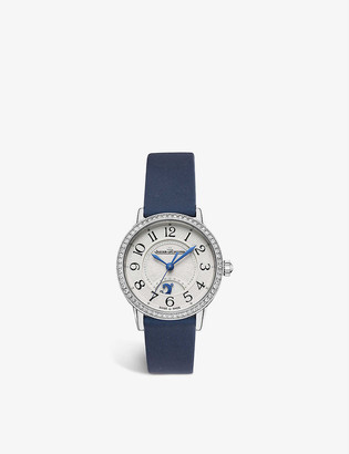Jaeger-LeCoultre Q3468430 Night and Day RendezVous stainless steel and satin watch