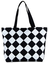 Condura Diamond Check Canvas Bag