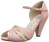 Bettie Page Women's BP403-Melanie Dress Sandal