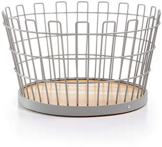 Martha Stewart Collection Small Gray Wire Basket