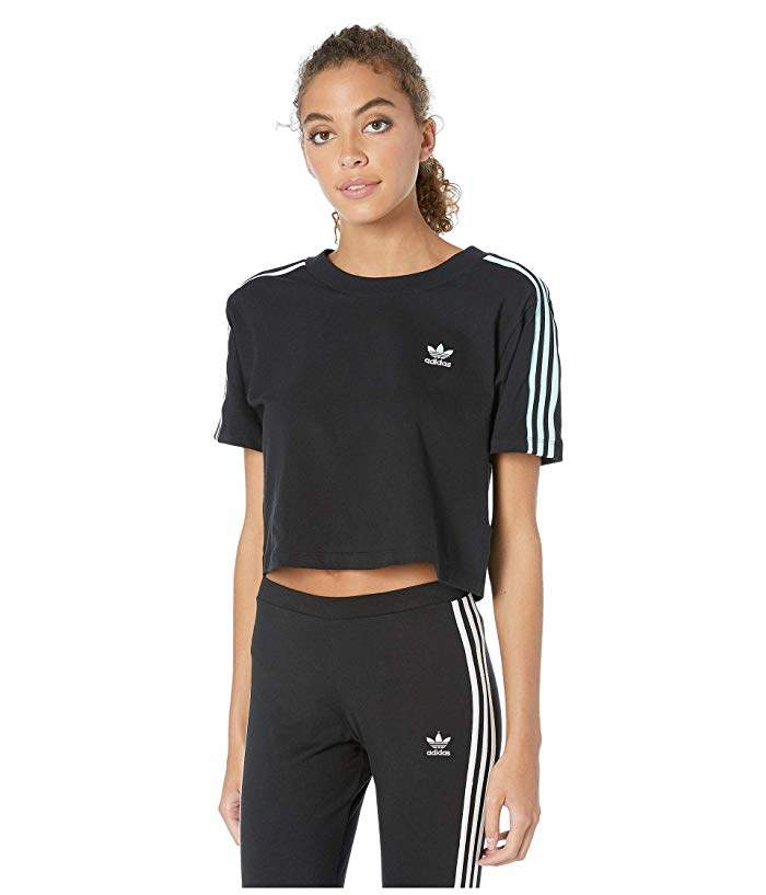 413cf8a65f Adidas Trefoil Crop Top - ShopStyle