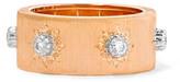 Buccellati Macri 18-karat Pink And White Gold Diamond Ring - 54