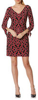 Laundry by Shelli Segal Printed Jersey Dress