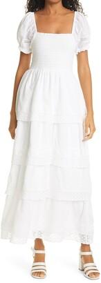 LoveShackFancy Capella Lace Dress