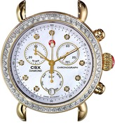 Michele CSX-36 Diamond Two-Tone, Diamond Dial Silver/Gold Watch Head