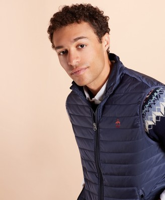 Brooks Brothers Water-Resistant Puffer Vest