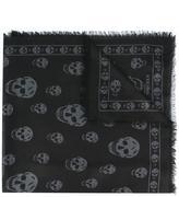 Alexander McQueen Skull scarf - men - Silk/Modal - One Size