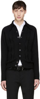 Prada Black Wool Cardigan