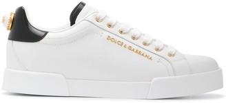 Dolce & Gabbana Classic Logo Low-Top Sneakers