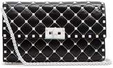 Valentino Free Rockstud Spike quilted-leather clutch