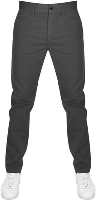 Boss Casual BOSS Taber Tapered Fit Jeans Grey