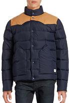 Penfield Leather-Yoke Down Jacket