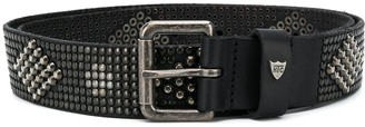 HTC Geometric-Studded Belt