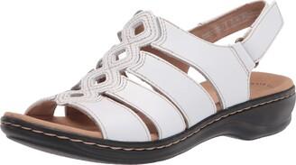 Clarks Women's Leisa Ruby Flat Sandal