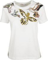 RED Valentino Bird Print T-shirt