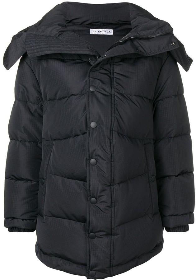 Balenciaga New Swing puffer coat
