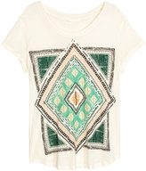 H&M Sequined Top - Natural white - Ladies