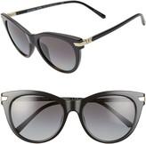 Michael Kors 54mm Polarized Gradient Cat Eye Sunglasses