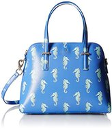 Kate Spade Cedar Street Seahorses Maise Satchel Bag