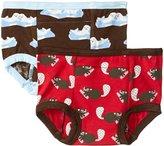 Kickee Pants Training Pants Set (Toddler) - Beaver/Bark Seals - 3T/4T