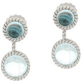 Judith Ripka As Is Sterling Gemstone Cabochon Earring Jackets