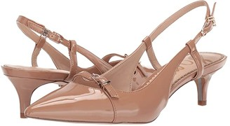 Sam Edelman Denia (New Nude/Black Baby Leopard Brahma Hair/Butter Nappa Leather) Women's Shoes