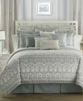 Waterford Allure Slate Gray Reversible Queen Comforter Set