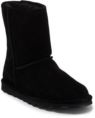 BearPaw Elle Genuine Shearling Lined Suede Boot