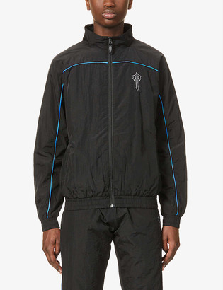 Trapstar Irongate branded shell jacket