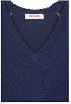 Organic by John Patrick V-Neck Knit Pullover