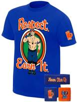 Freeze John Cena WWE Respect Earn It T-shirt Headband Wristbands Boys Juvy
