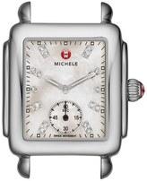 Michele Women's Deco 16 Diamond Dial Watch Head, 29Mm X 31Mm