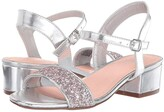 BCBGMAXAZRIA Girls Girls Hilary (Little Kid/Big Kid) (Silver) Girls Shoes