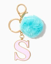 Charming charlie Furry Initial S Keychain