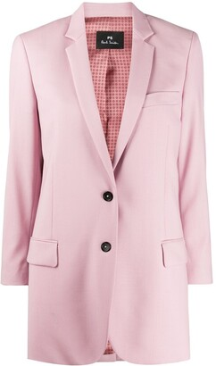 Paul Smith Single-Breasted Virgin Wool Blazer