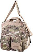 Lillian Rose Lillian RoseTM Military Camouflage Daddy Diaper Bag in Tan/Green