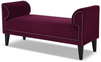 Jennifer Taylor Paloma Roll Arm Upholstered Bench