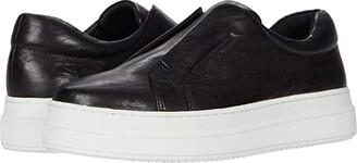 J/Slides Noel (Black Distress) Women's Shoes