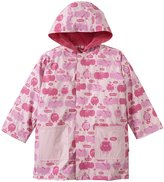Magnificent Baby Hippo Friends Raincoat (Toddler) - Pink-3T
