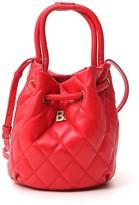 Balenciaga B. Quilted Bucket Bag