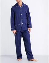 Derek Rose Lombard Floral-print Cotton Pyjama Set