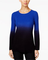 NY Collection Petite Ombré Sweater