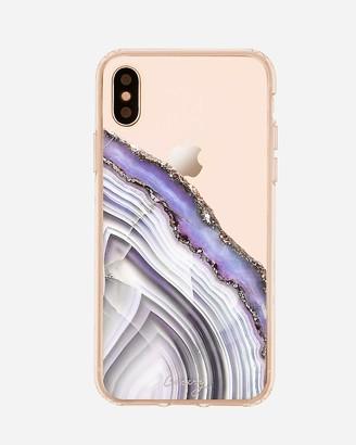 Express Casery Light Purple Agate Matte Iphone Case