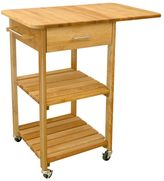Catskill Craft Drop Leaf Kitchen Cart