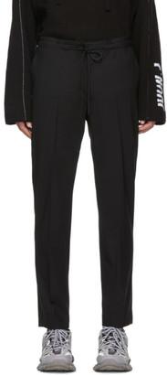 Juun.J Black Drawstring Trousers